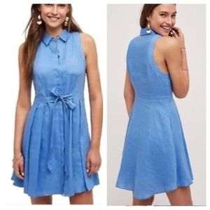 HD in Paris Printemps Linen Shirt Dress